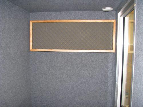 Silense Double neuvottelutilan sisätilat, akustiikkaelementti