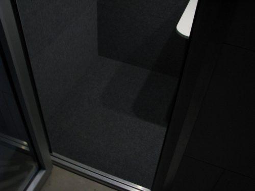 Silense Double toimistotilan oven kynnys