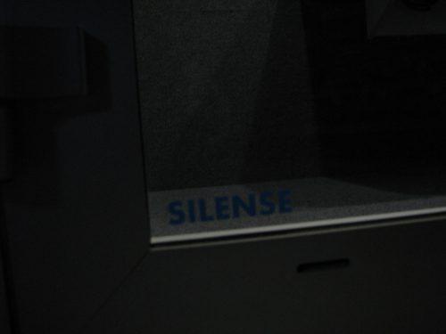 Silense Double alumiiniovi toimistotilassa detaljikuva