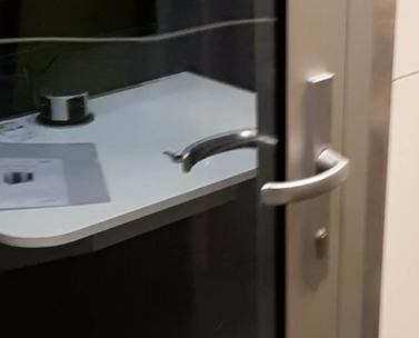 Silense Double tuotekuva oven detalji