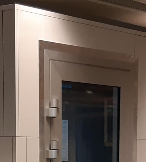 Silense Double tuotekuva oven yläosa ja rakenne